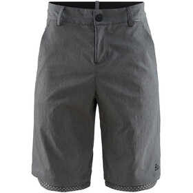 Craft Ride Habit Pantaloncini Uomo, dark grey melange